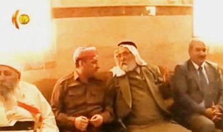 Встреча Мир Тахсин Саид бега с губернатором Дохука