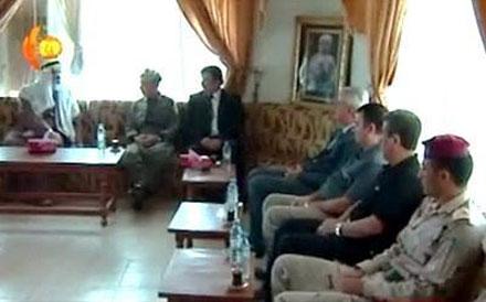 Мир Тахсин Саид бег принял в своей резиденции начальника штаба иракской армии