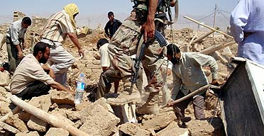 Живых йезидов оставят умирать среди руин Катахании
