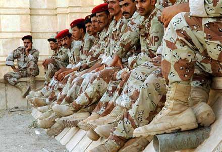 Армия Ирака проводит зачистку Езидской местности