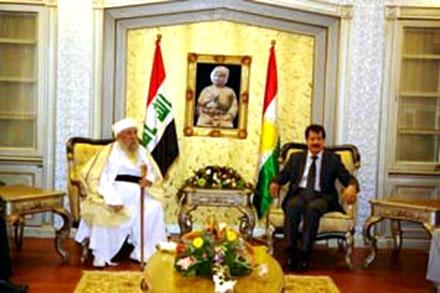 Баба Шейх призывает власти Курдистана способствовать возвращению Езидов в родные места