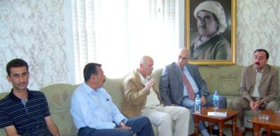 Один из министров регионального правительства Курдистана посетил офис «Центра Лалиш»