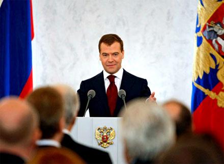 Ежегодное Послание президента России Дмитрия Медведева можно послушать и на курдском