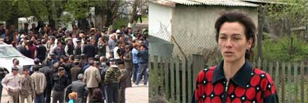 В киргизском селе продолжаются волнения на национальной почве: жители требуют выселить курдов