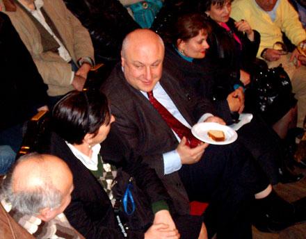 Празднование езидского праздника Клоча Саре Сале в Тбилиси