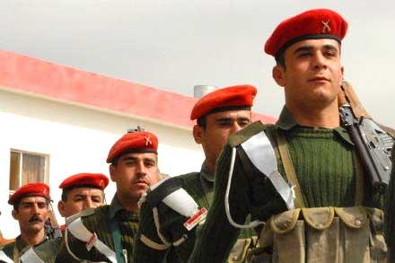 Пятеро курдских солдат погибли в Езидской части Ирака