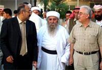 Езидские верховные лидеры навестили пострадавших в больницах
