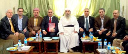 Делегации Езидов России и Великобритании посетили религиозный центр «Лалиш» в Дохуке
