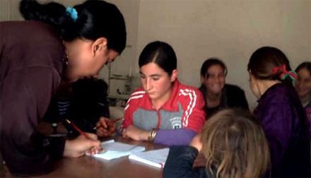 Курсы в Шангале приняли своих первых учеников