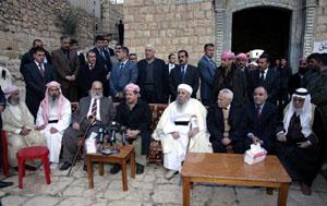 Президент Курдистана нанес визит в Святой Лалиш
