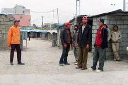 Езидская молодежь вынуждено работает в тяжелых условиях в Курдистане