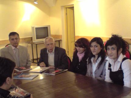 Встреча в Кавказском доме