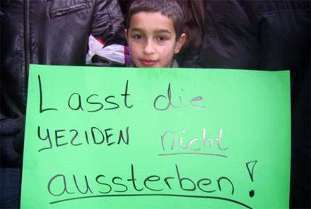3000 Езидов выступили на мирной демонстрации в Ганновере (Германия)