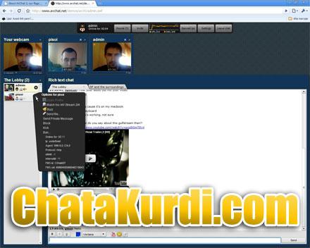 Обновление видео чата - ChataKurdi.com