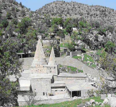 Гробница шейха Ади в Лалише
