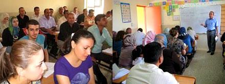 В районе Телкейф Курдистана открывается центр курдского языка