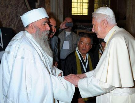 Визит Его Святейшество Папа Езидский в Ватикан