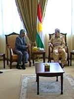 Президент Курдистана Масуд Барзани встретился с делегацией курдов б. СССР