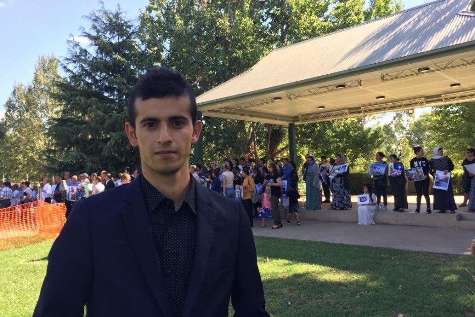ФОТО: Хаджи Гундор сказал, что Австралии следует принять больше беженцев (ABC Riverina)