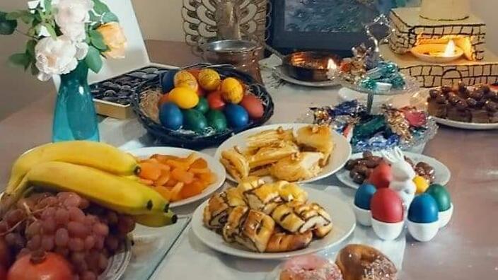 Новый год в Ираке – это возможность собраться всей семьей за обеденным столом, чтобы поболтать и насладиться любимыми блюдами