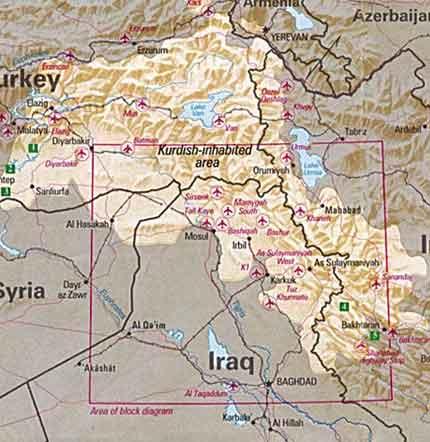 Курдистан в геополитическом аспекте