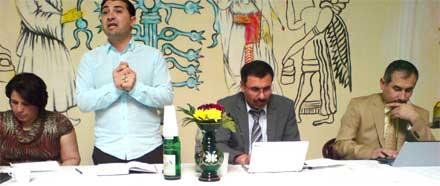 Первое расширенное заседание центра «EZiD» в немецком городе Селле