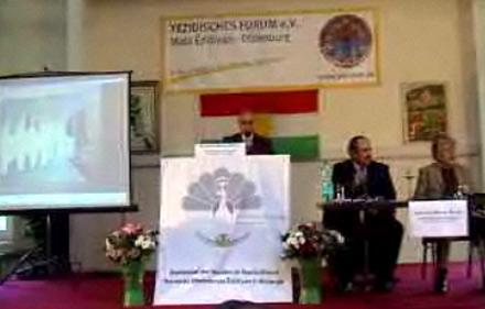 Видеорепортаж с конференции, посвященной Езидским героям и предводителям