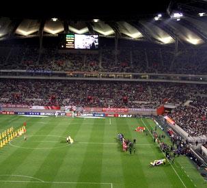 Футбольный стадион для Синджарцев