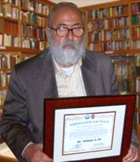 Духовный глава езидов - Тахсин Саид-бег удостоился звания