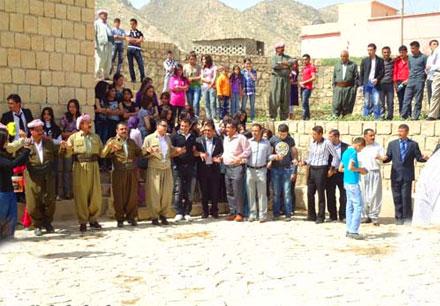 Таваф Эздин Эмир в поселке Шихка
