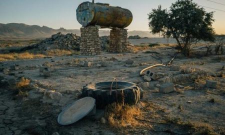 Сотни колодцев отравлены, деревья вырублены, машины и скот угнаны
